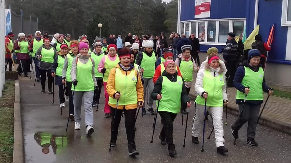В Абинском районе прошёл олимпийский пробег