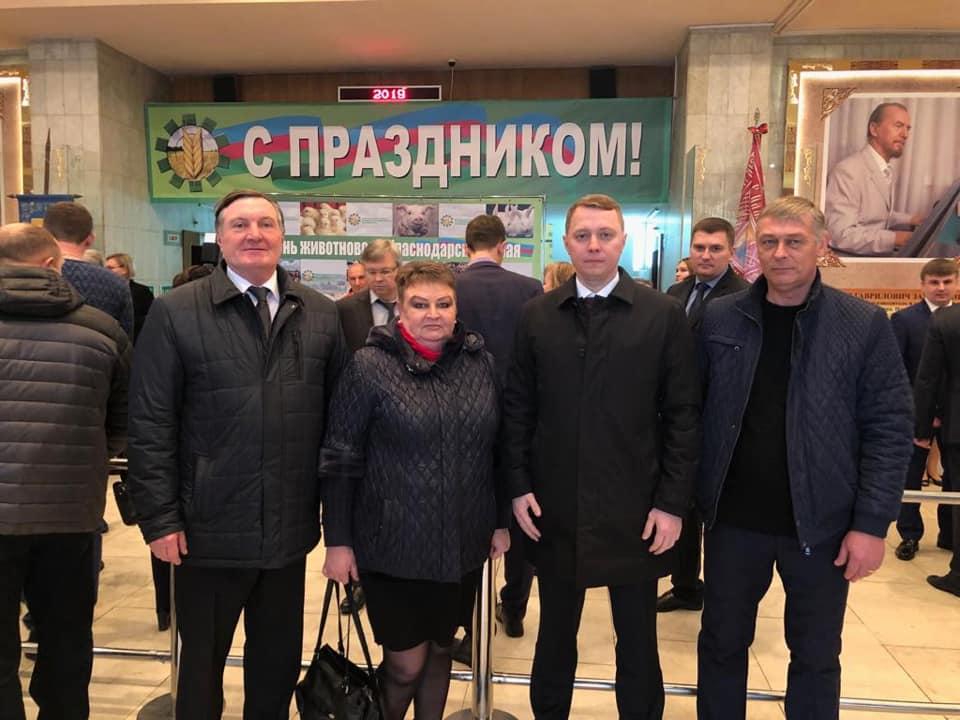 Абинская делегация приняла участие в Дне животновода