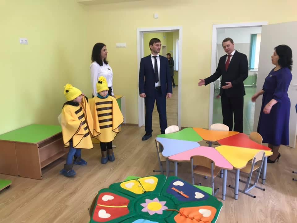 В поселке Ахтырском открыли новую пристройку к детскому саду №44 на 60 мест