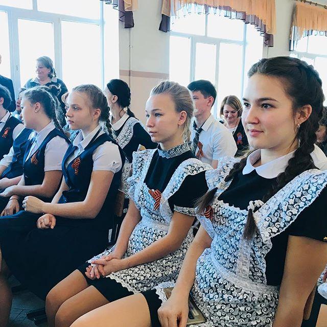 В школе станицы Федоровской прошла встреча с лидерами школьного самоуправления