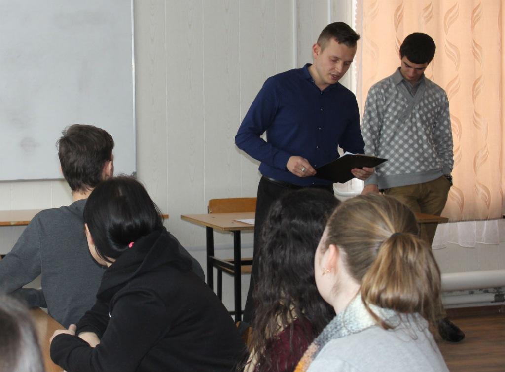 Более 40 учащихся ахтырского техникума сошлись в дебатле