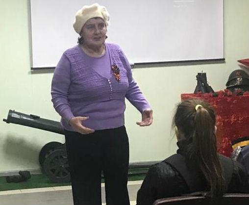 В Ольгинском культурно-досугового центре встретились разные поколения