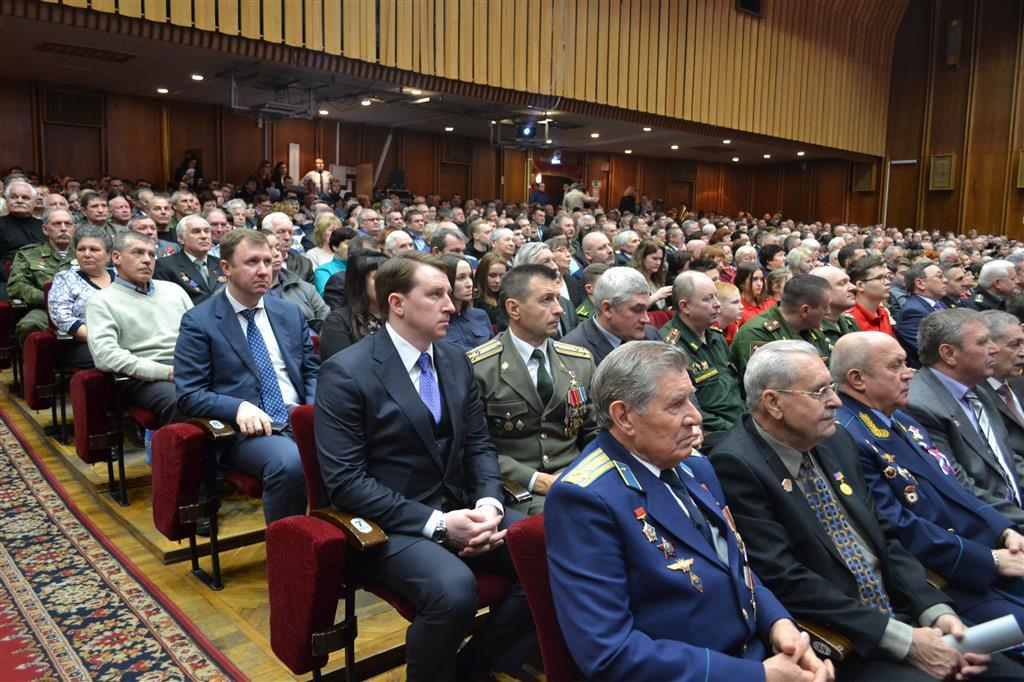 В Краснодаре прошло торжественное собрание в честь героев-афганцев