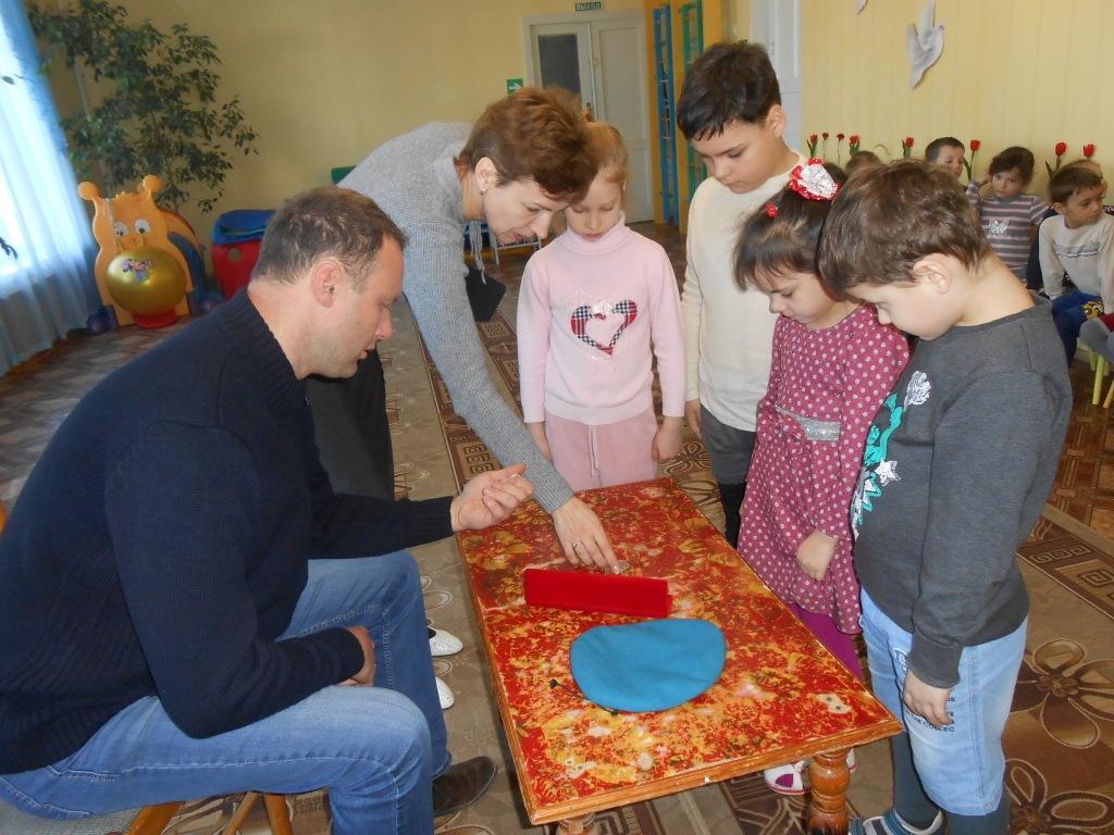 Спецназовец побывал в гостях у воспитанников ахтырского детского сада