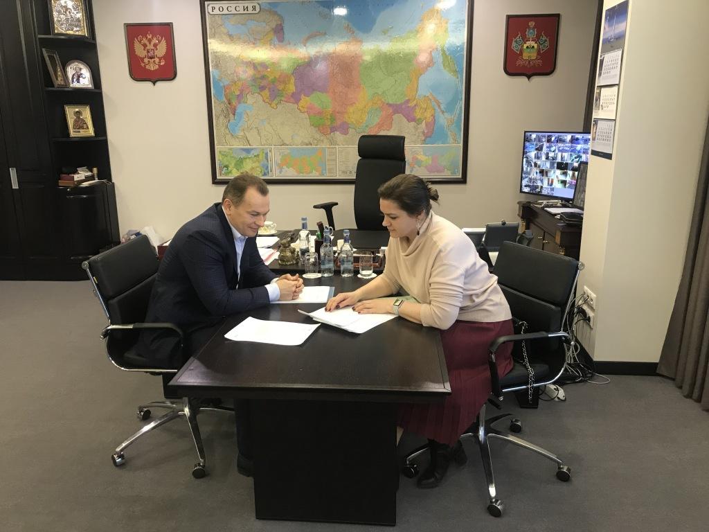 Депутат Госдумы обсудила с руководителем «Газпром газораспределение Краснодар» повышение качества работы с кубанскими потребителями