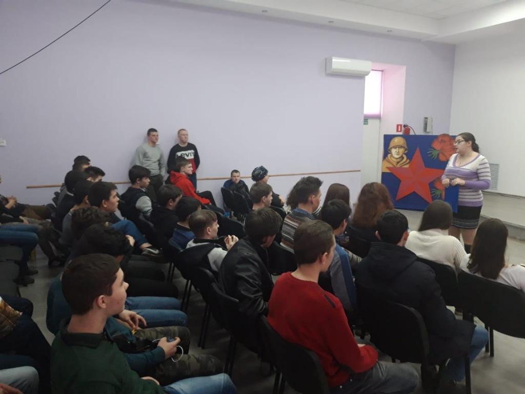 В поселке Ахтырском учащимся продемонстрировали фильм «Афганский излом»