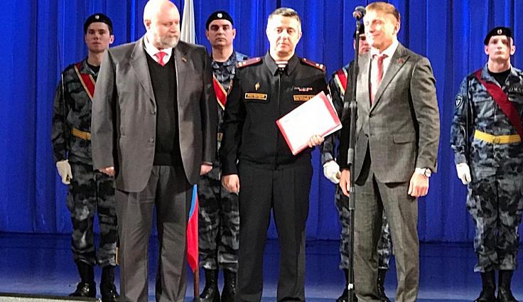 Депутаты ЗСК поздравили с юбилеем сотрудников лицензионно-разрешительной службы