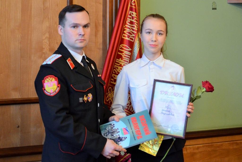 Старшеклассница холмской школы стала призером краевой викторины по казачеству