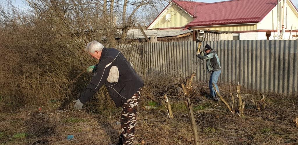 Работники МУП «Память» Абинского городского поселения приступили к работам по благоустройству на кладбищах