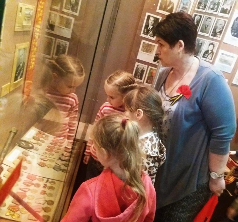 Для абинских малышей в районном музее прошла экскурсия