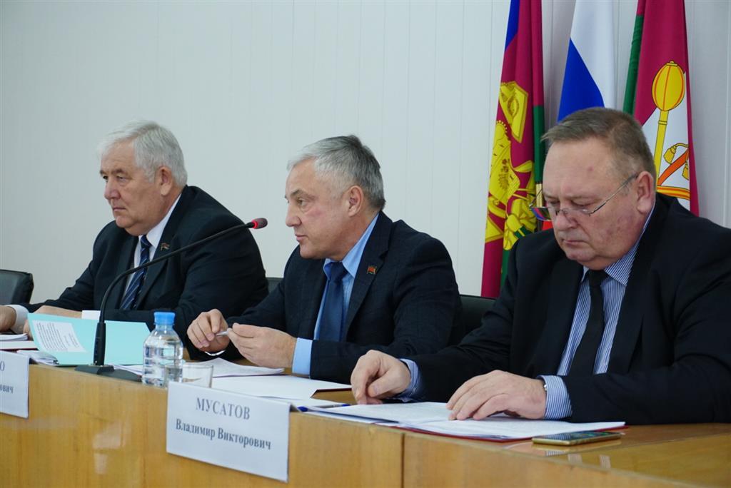 Парламентарии ознакомились с перспективами развития Брюховецкого района