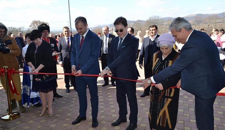 Депутаты ЗСК приняли участие в открытии в станице Отрадной центра реабилитации инвалидов
