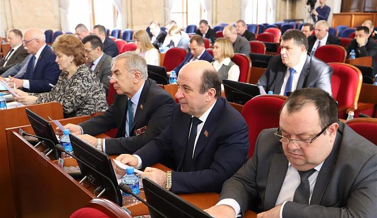 В ЗСК состоялось собрание фракции «Единой России»