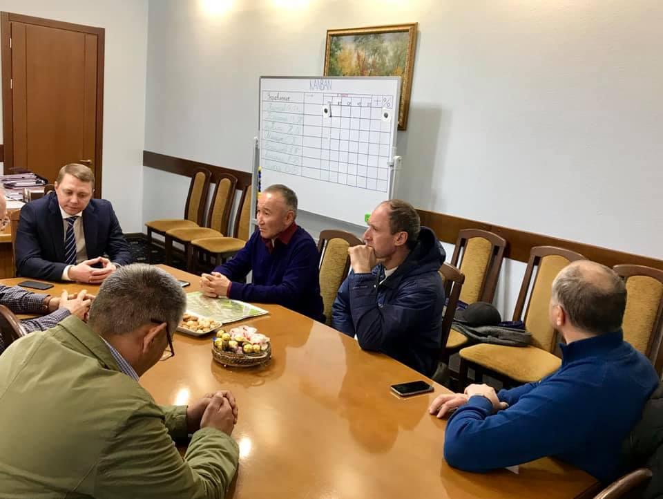 Глава Абинского района встретился с инвесторами из Якутии