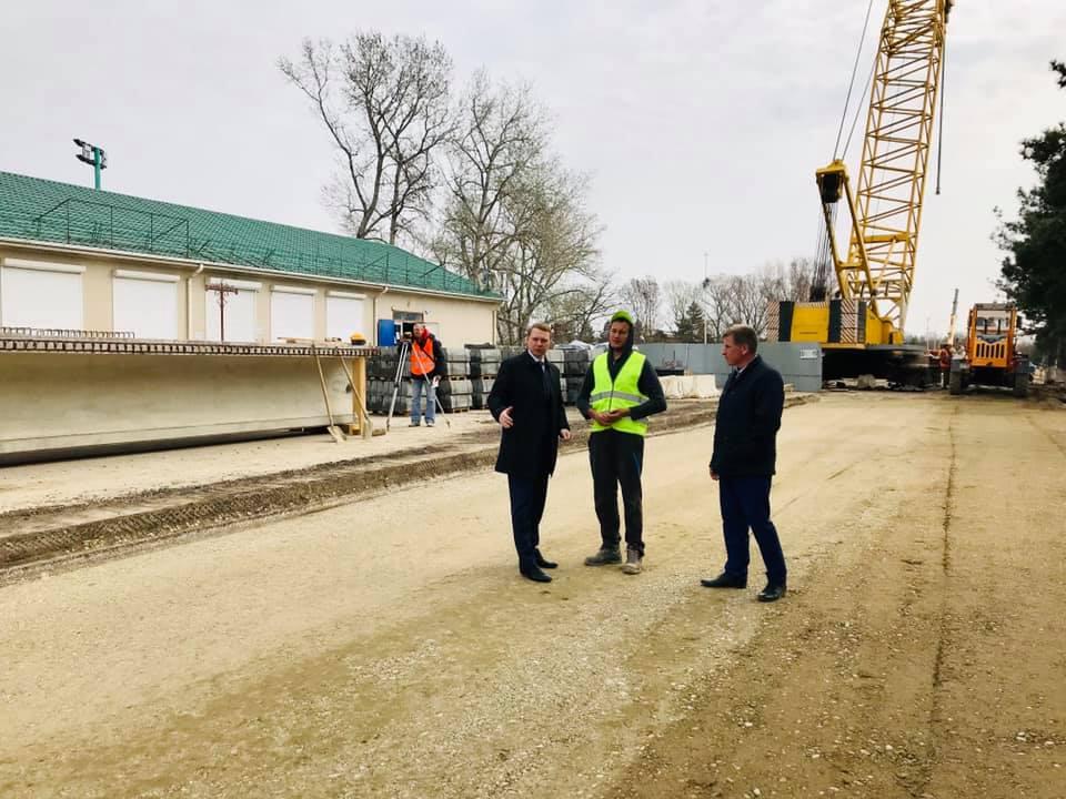 С каждым днём все ближе завершение строительства моста по ул. Советов в Абинске