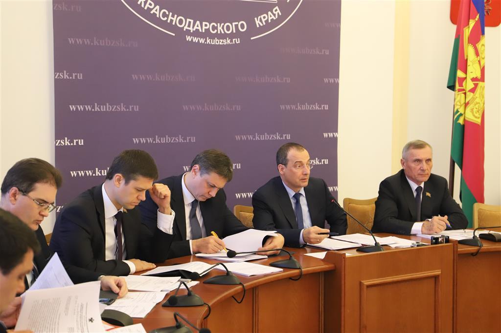 Депутаты ЗСК рассмотрели результаты исполнения госпрограмм в 2018 году