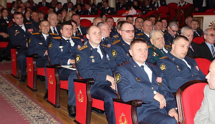 Председатель ЗСК поздравил со 140-летием уголовно-исполнительной системы России сотрудников ведомства