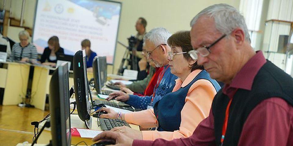 Пожилые люди в Абинском районе сядут за парты