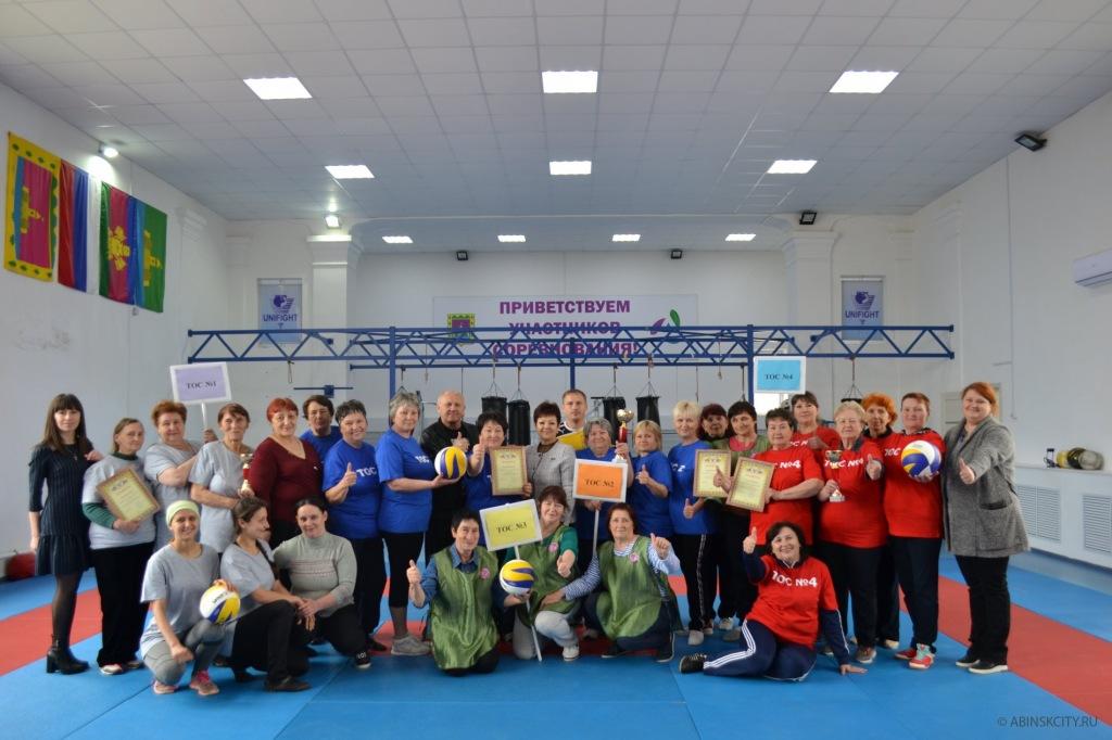 В Абинске прошла спартакиада органов ТОС Абинского городского поселения