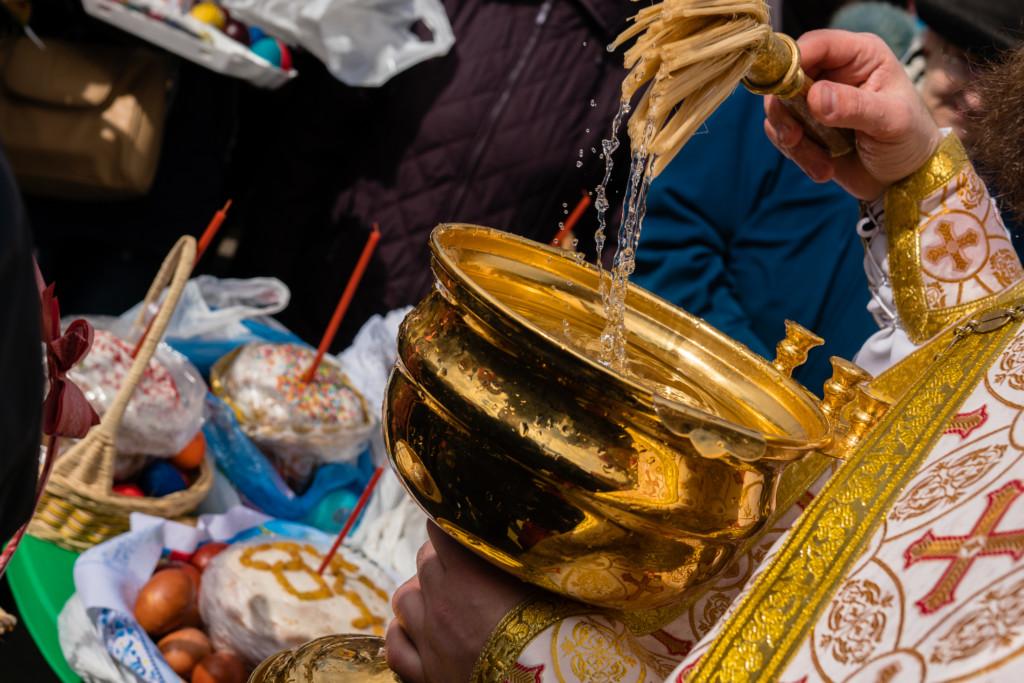Пасхальные службы, освящение куличей пройдут в храмах города Абинска