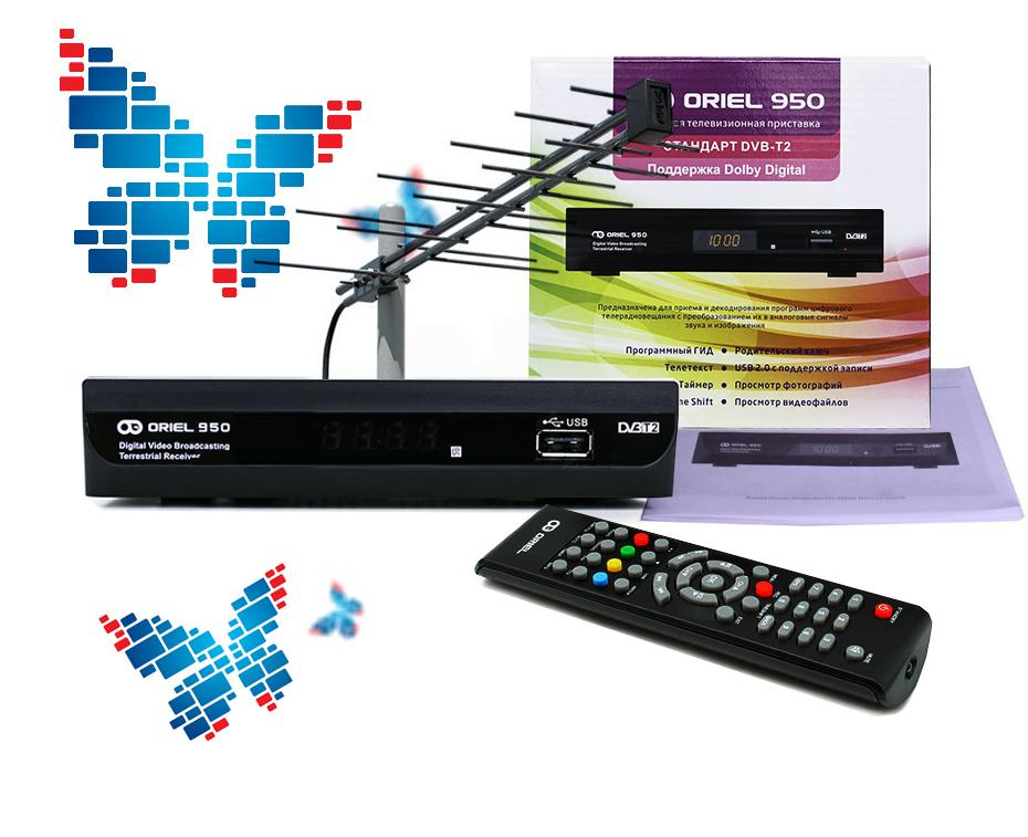 Телевизор будет показывать с дециметровой и всеволновой антенной
