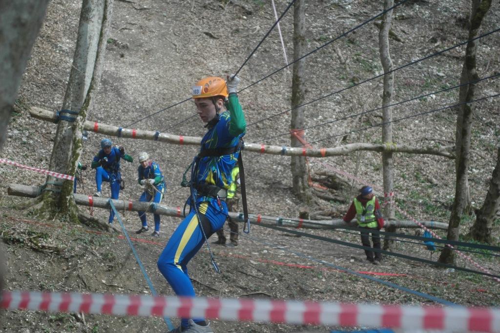 Абинские спортсмены победили в первенстве и чемпионате Краснодарского края по спортивному туризму на пешеходных дистанциях
