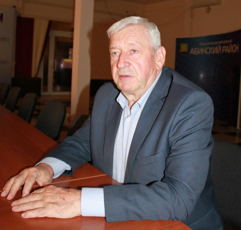 С именем Владимира Пантелеевича Радченко связана целая эпоха развития Абинского района