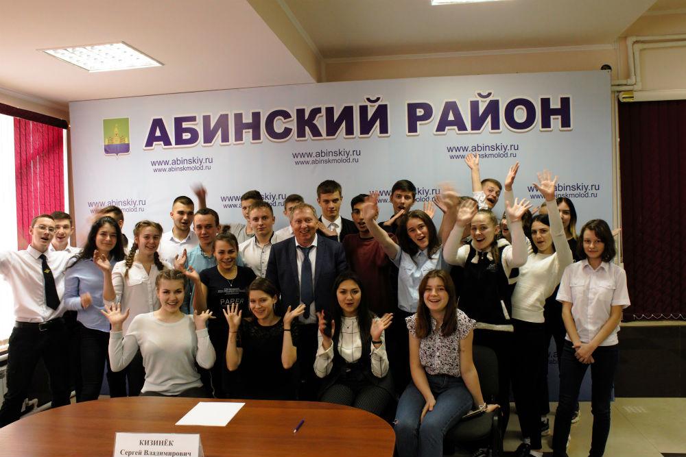 Студенты Ахтырского техникума встретились с депутатом ЗСК