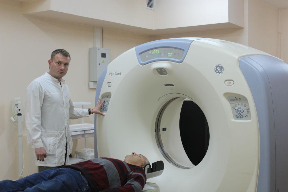 Высокотехнологичная диагностическая аппаратура в Абинской ЦРБ  оказывает неоценимую помощь