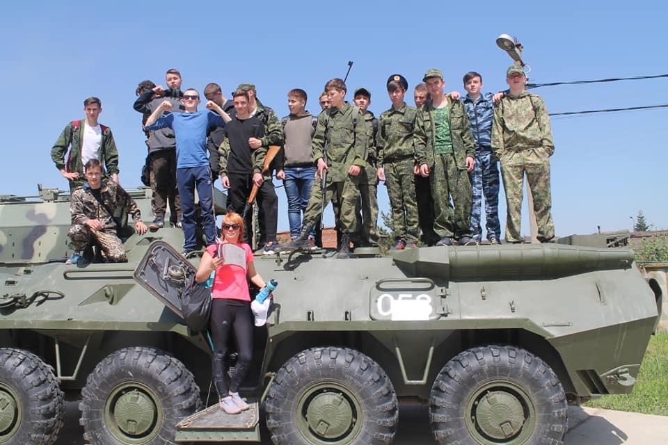 85 школьников Абинского района дали клятву юнармейца