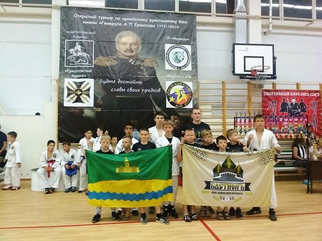 Абинчане вошли в сборную Краснодарского края по армейскому рукопашному бою