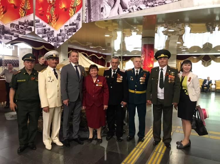 Делегация Абинского района участвовала в торжественном приеме губернатора Краснодарского края, посвящённом Дню Победы