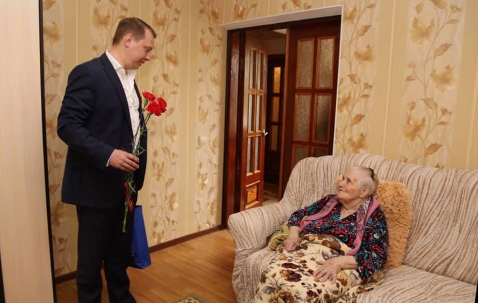 Глава Абинского района лично поздравил ветеранов Великой Отечественной войны