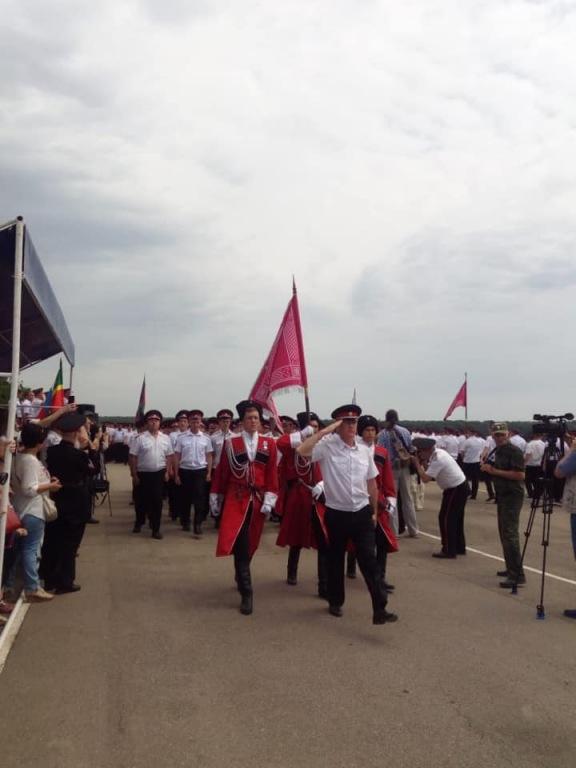 Более ста жителей Абинского района участвовали в Тиховских поминовениях