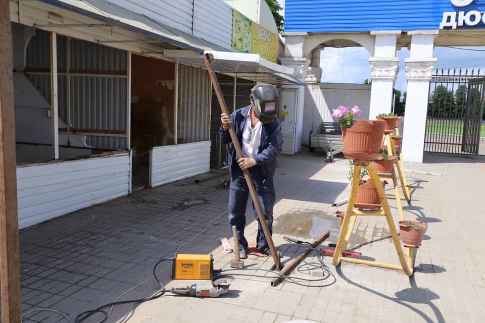 Началась реконструкция «казачки» в Абинске