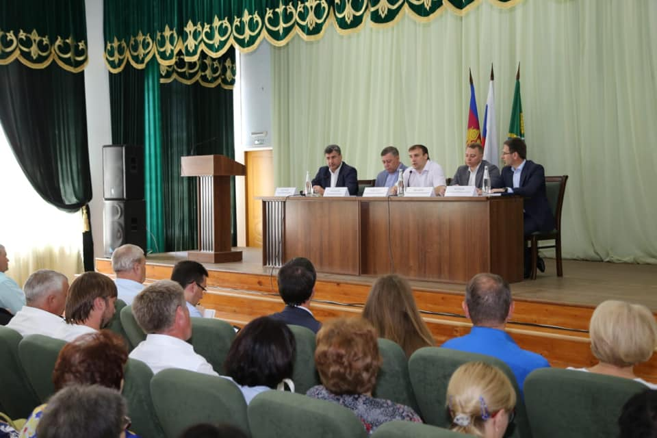 Глава Абинского района принял участие в зональном совещании по переходу на цифровое телевидение