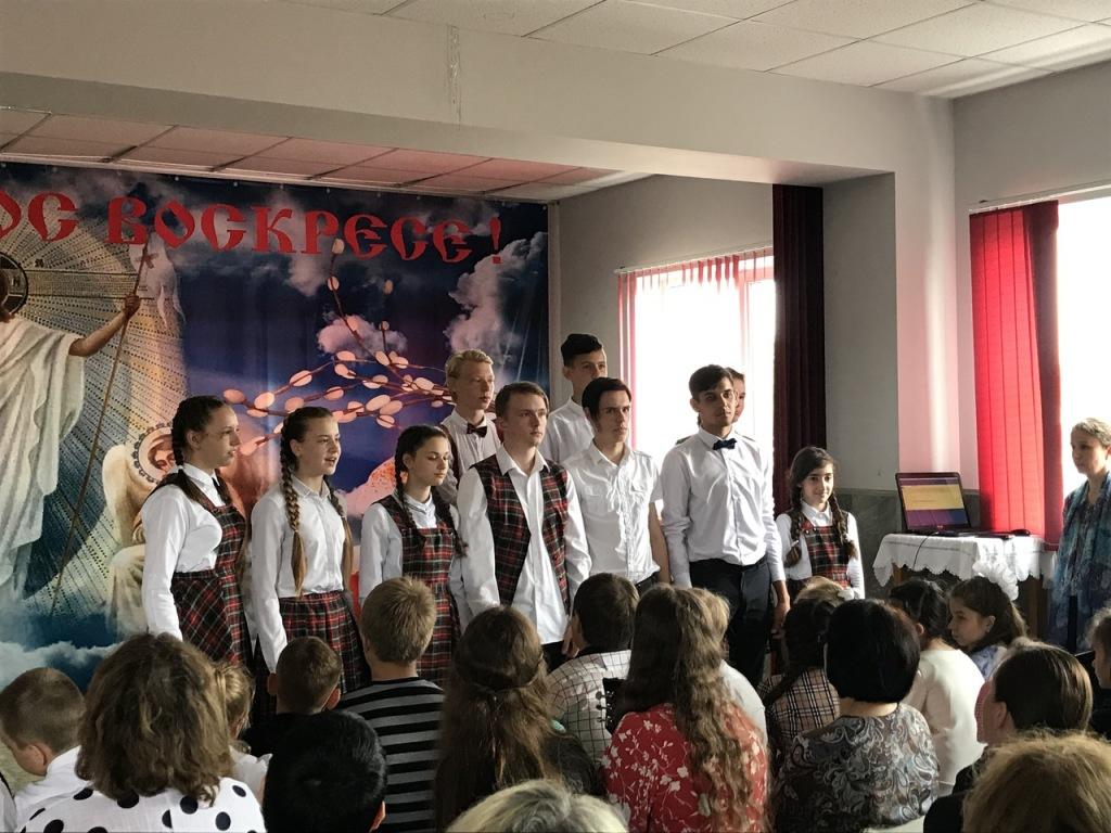 В абинской воскресной школе прошел концерт