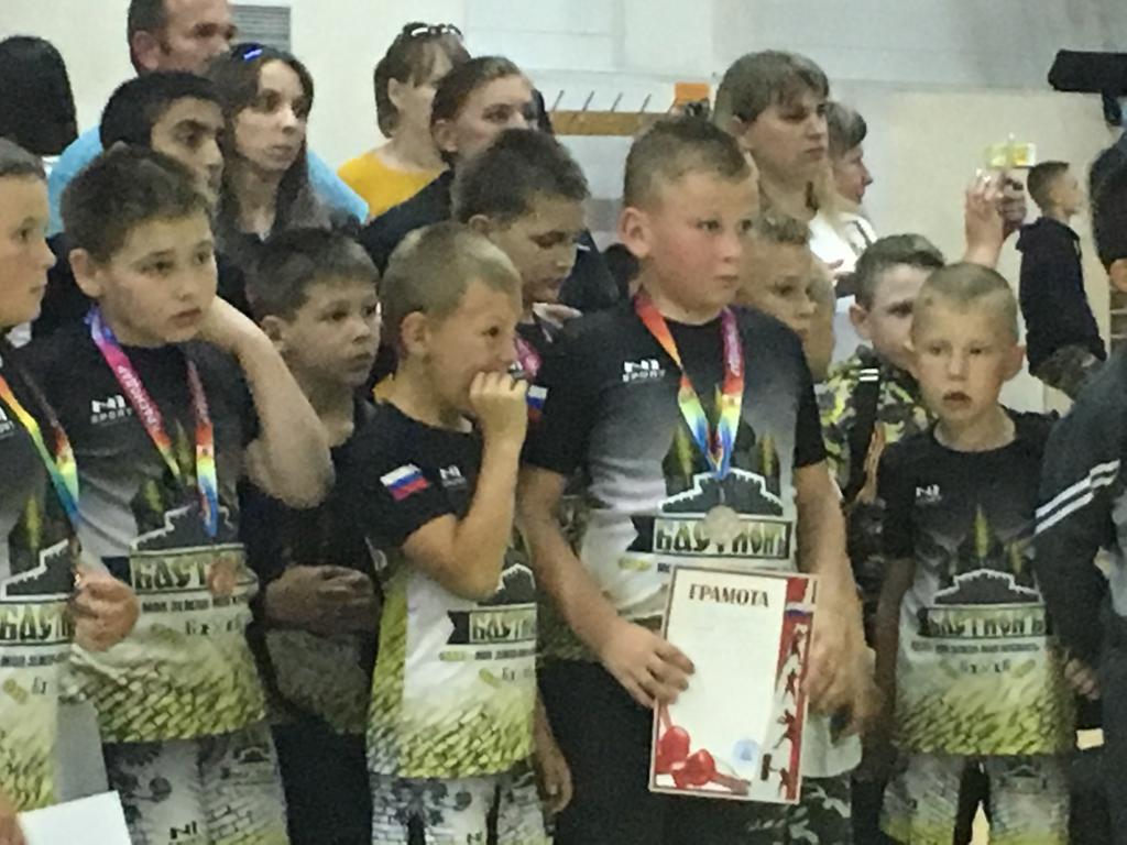 Команды спортивного клуба «Бастион» из станицы Холмской стали призерами первенства г. Краснодара по ударно-борцовскому стилю