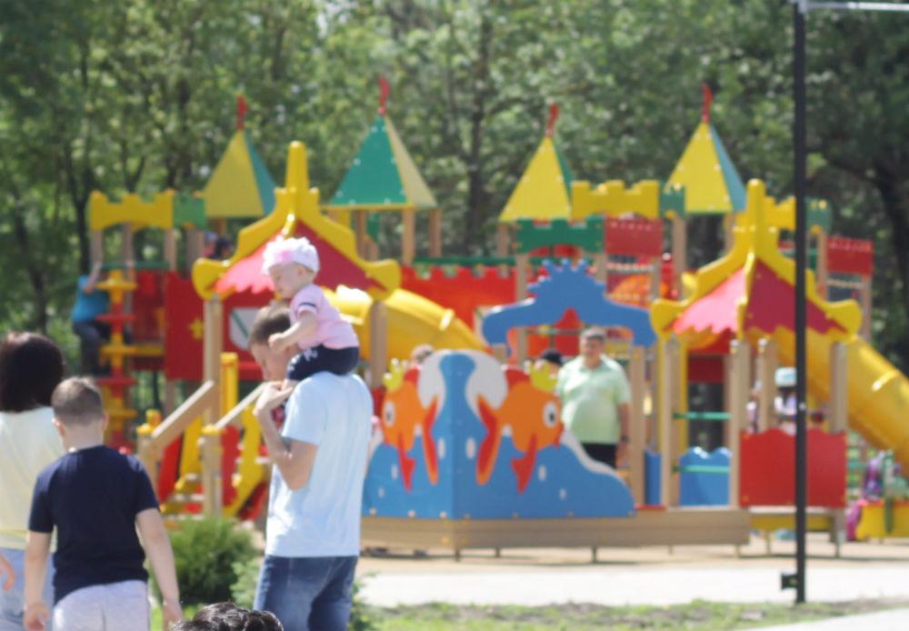 Детские дворовые и спортивно-игровые площадки к лету готовы
