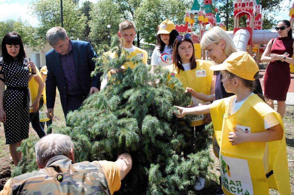 В Абинске прошла экологическая акция по раздельному сбору отходов