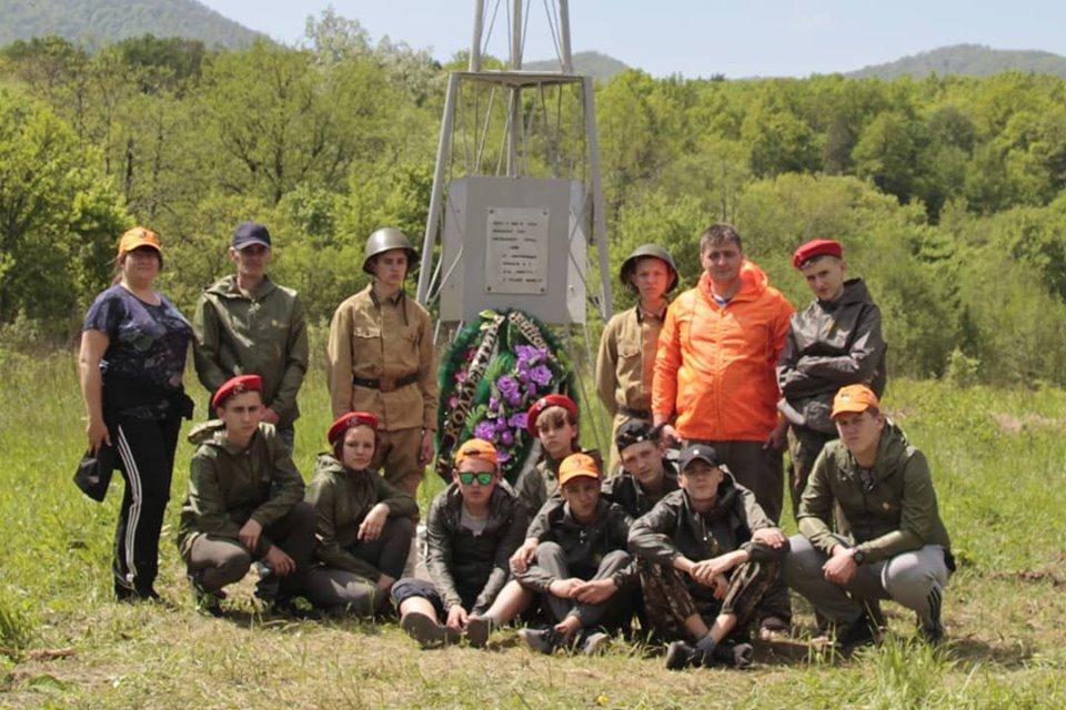 Дорогой героев прошли учащиеся школы №38 г. Абинска
