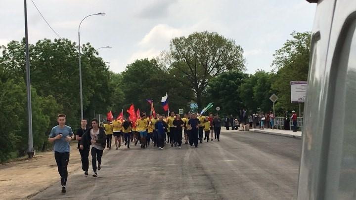 3,5 тысячи жителей Абинска приняли участие в легкоатлетическом забеге в честь 74-летия Великой Победы