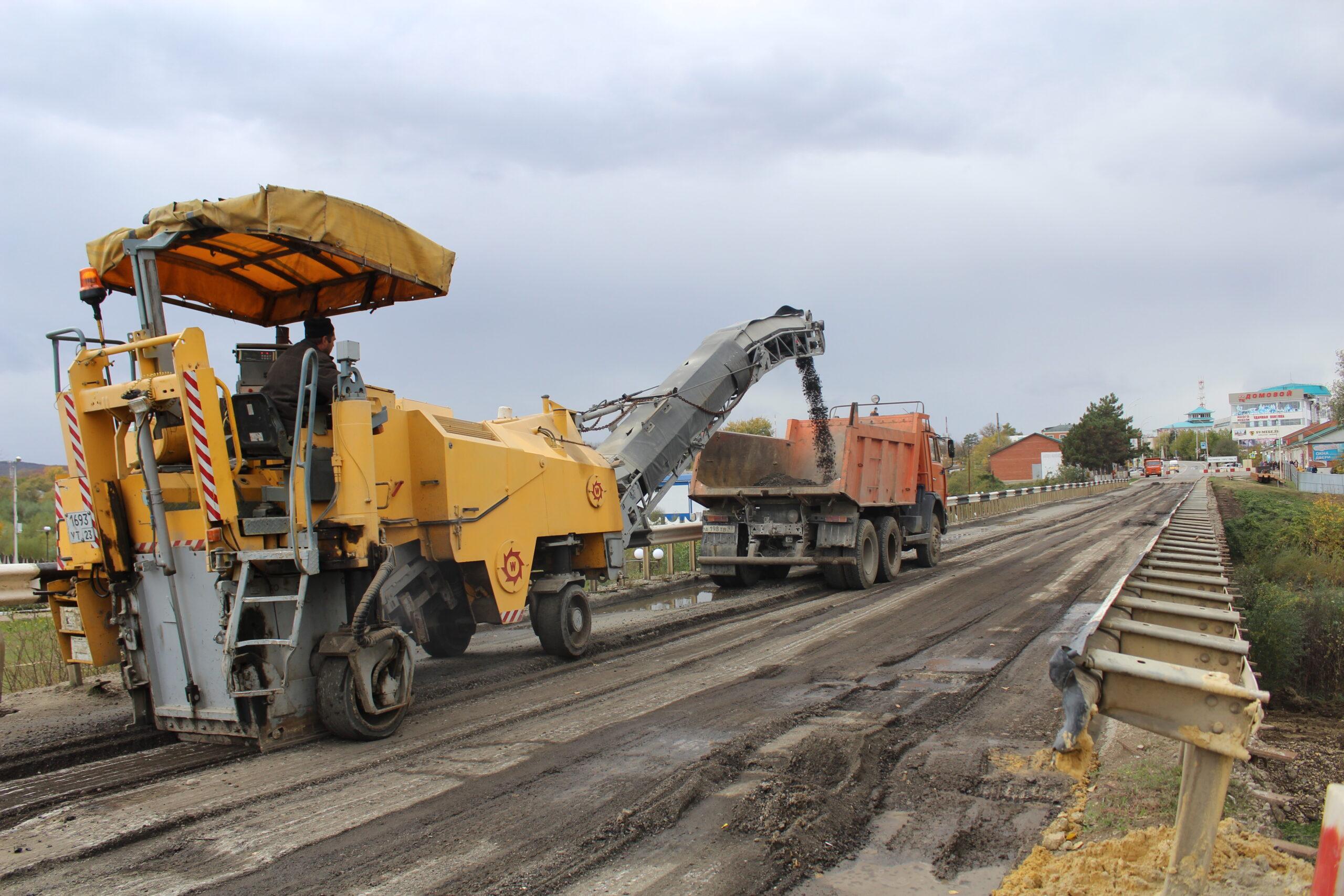 На полгода раньше открыли автомобильный мост в Абинске