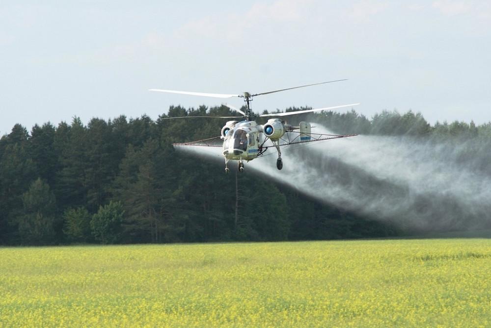 Агроном погиб, попав под лопасть вертолета в Абинском районе