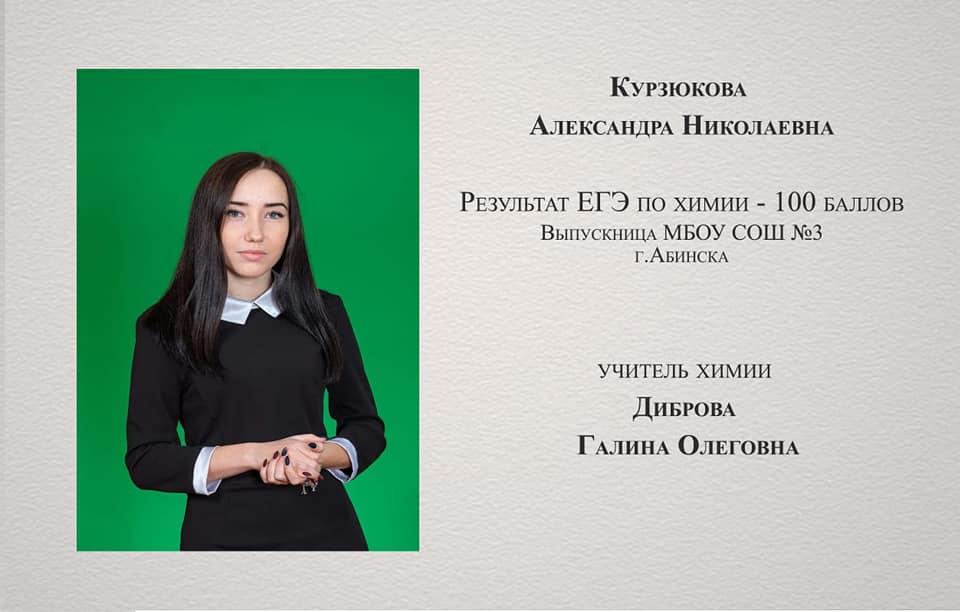 Высший пилотаж: четыре выпускника из Абинского района набрали по 100 баллов на ЕГЭ