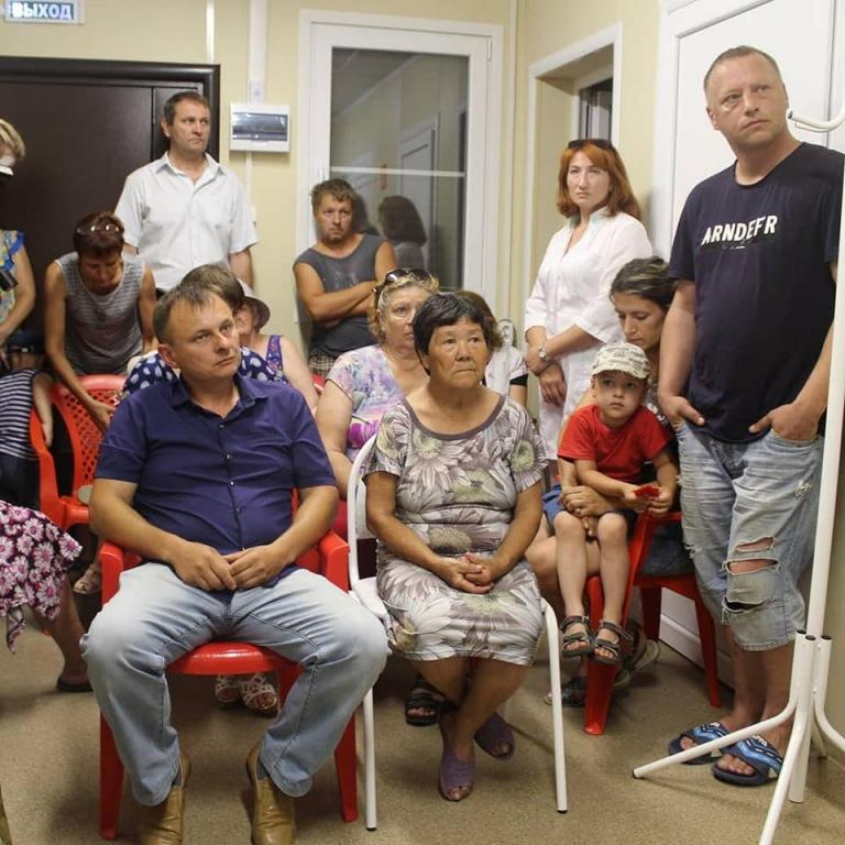 Глава Абинского района встретился с жителями хутора Коробкин
