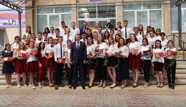 В Абинском районе чествовали лучших выпускников
