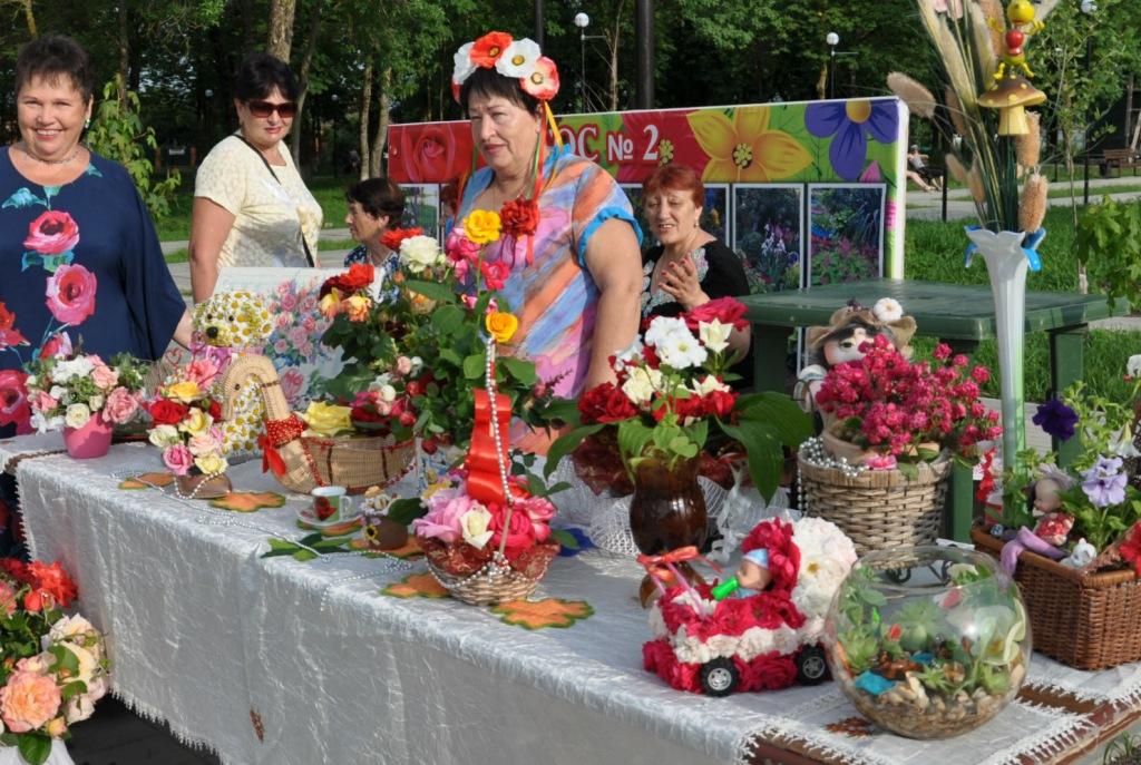 В Абинске впервые прошел праздник цветов