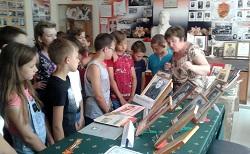 В Абинском районе прошла патриотическая акция для детей и молодежи «Идем в музей»