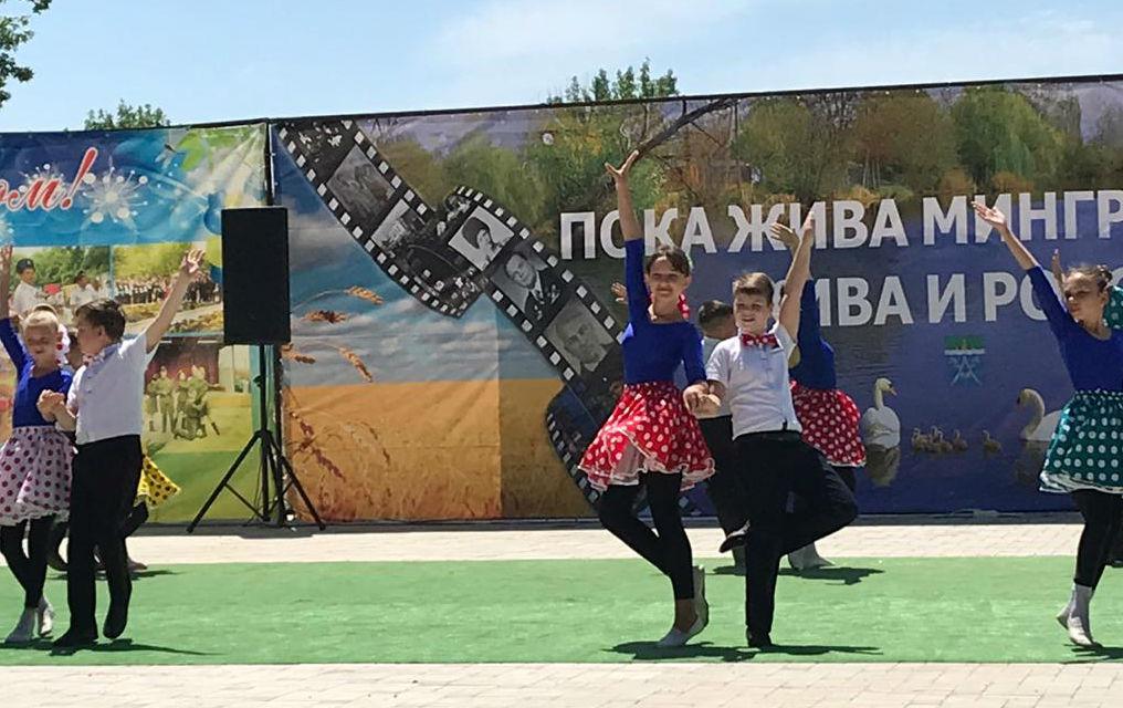 Казачья станица Мингрельская отметила 156-летие